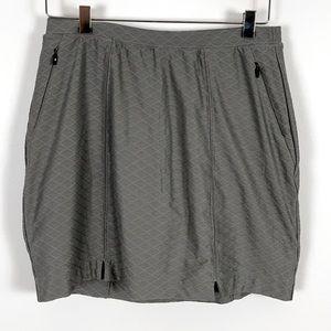 ✨3/$25✨Annika Grey Athletic Skirt w Under Shorts